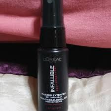 l oreal paris infallible pro spray set