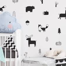 Nordic Animals Wall Decals