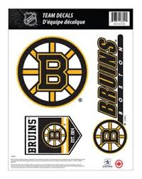 Boston Bruins Vinyl Decal Canadian Tire