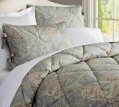 lewis paisley comforter shams