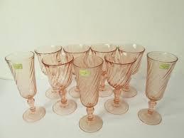 luminarc rosaline pink wine and