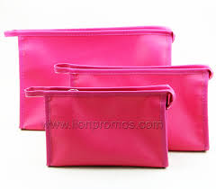 cosmetic bag with makeup mirror