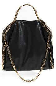 faux leather tote wristlet