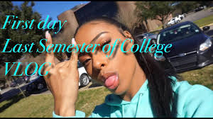 my last semester of college vlog