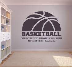 Expect Things Michael Jordan Basketball Quotes Sports Inspiration Quote Wall Decal Vinyl Art Sticker Design For Boys Girls Room Home Court Bedroom Decor Wall Art Mural Decoration Size 12x20 Inch Walmart Com