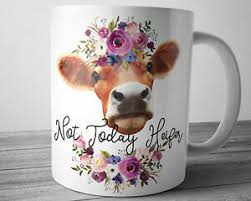 heifer e mug 11 oz cow farm s