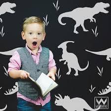 Jurassic Park Dinosaurs Vinyl Wall Decals Boys Bedroom Or Nursery Wallternatives
