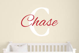 Boy Name Decal Personalized Vinyl Decals Childrens Wall Decals Baby Boy Wall Decal Wall Decals Nursery Wall Decals Tweet Heart Home Design