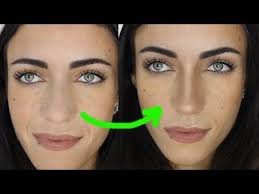 how to make your nose look smaller