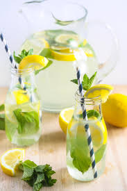 coconut water ginger lemonade