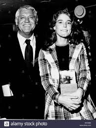 Actor Cary Grant with daughter Jennifer Grant Stock Photo - Alamy