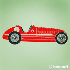 Vintage Race Car Wall Decal Maserati Art Car Sticker Grand Etsy Vintage Race Car Custom Vinyl Wall Decals Custom Car Decals