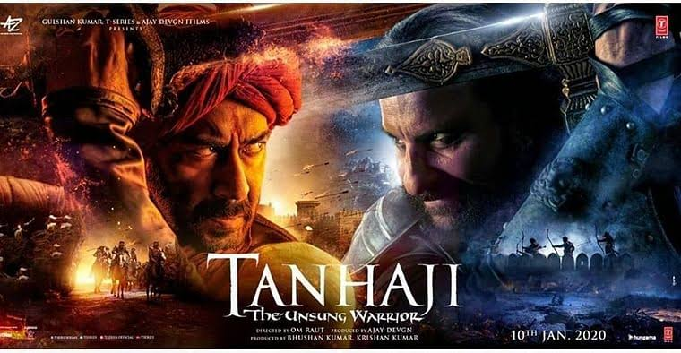 Download Tanhaji: The Unsung Warrior Movie Tamilrockers