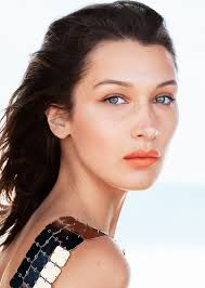 bella hadid tries fall s boldest lip