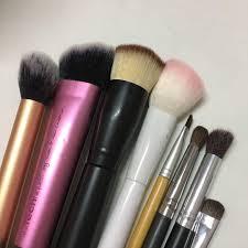 brush set health beauty makeup on