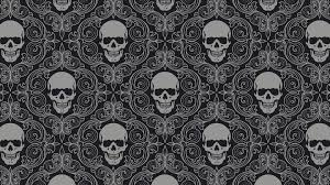 skull pattern wallpapers top free