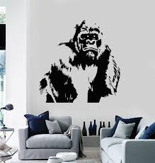 All Wall Vinyl Decals Tagged Gorilla Wall Decal Wallstickers4you