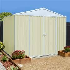 2 99 x 2 99 x 2 19m cream garden shed