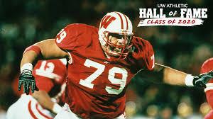 2020 UW Athletic Hall of Fame: Aaron Gibson | Wisconsin Badgers