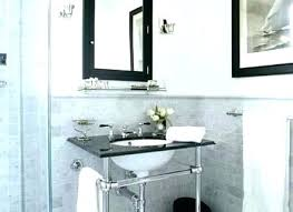 black medicine cabinet with mirror