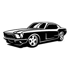 Mustang 1349 Vinyl Sticker