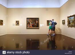 interior view blanton museum of art