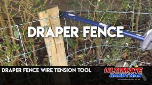 Draper Fence Wire Tension Tool Youtube