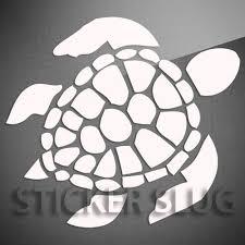 Sea Turtle Ocean Animal Decal Sticker Vinyl Custom Wall Art Window Car 1053 Ti Ebay 6 95 Sea Turtle Decal Turtle Art Sea Turtle