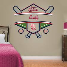 St Louis Cardinals Personalized Name Wall Decal Shop Fathead For Wall Art Decor Name Wall Decals Wall Decals Rtic Cup Designs