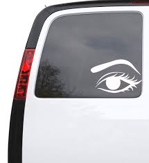 Auto Car Sticker Decal Female Woman Eye Make Up Truck Laptop Window 7 Wallstickers4you