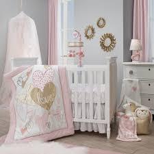 pink baby girl bedding sets