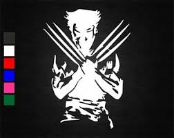 Wolverine Vinyl Decal Sticker Car Van Wall Laptop Bedroom Window 20cm X 14 5cm Ebay