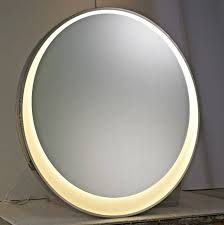 bathroom mirror round square led lights