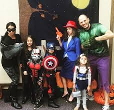 avengers family costumes to assemble