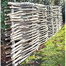 Primrose Premium Birchwood Capped Hazel Hurdle Fencing Panel 1 82m X 1 2m 6ft X 4ft By Papillon Next Working Day Delivery With 1 Year Warranty Amazon Co Uk Garden Outdoors