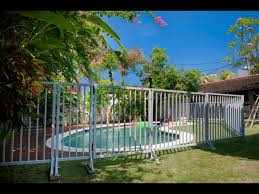 Pool Fence Hire Bali Accommodation Tours Transport Bali Guide