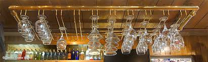 glass hangers stemware racks