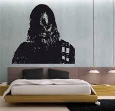 Amazon Com Star Wars Chewbacca Wall Mural Vinyl Decal Sticker 9 Home Kitchen Sticker Wall Art Animal Mural Vinyl Decal Stickers