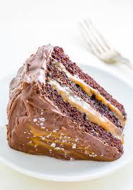 salted caramel chocolate cake baker