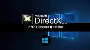 install directx 11 offline installer