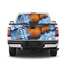 Bud Light Truck Tailgate Wrap Decal Or Window Perf Decal Or Etsy