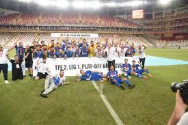 TFF 1. Lig'e Yükselen 3. Takım Tuzlaspor Oldu.