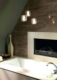 awesome bathroom hanging lighting ideas