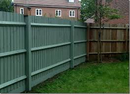 8 Paint It All 1024x738 In 2020 Garden Fence Paint Green Fence Paint Painted Wood Fence