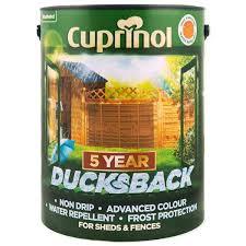 Cuprinol 5 Year Ducksback Wood Finishes Direct