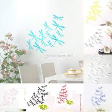 3d Diy Decor Dragonfly Home Party Wall Stickers Pvc Art Decal Home Decoration Accessories Wall Decals Birthday Party Napkins Birthday Party Needs From Liangxin001 0 73 Dhgate Com