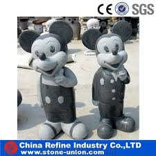 mickey mouse statue for garden