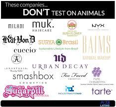 free makeup brands peta