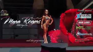 IFBB FIGURE PRO Myra Rogers - YouTube