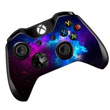 Amazon Com Galaxy Nebula Skin Vinyl Decal For Xbox One One S Controller Skins Stickers Cover Colorful Outer Space Galaxy Video Games